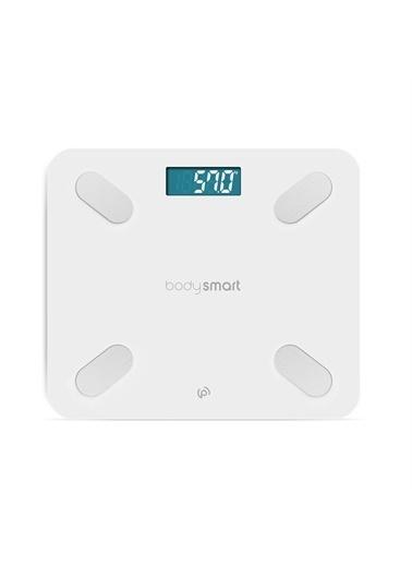 Polo Smart Polosmart PSC01 Bodysmart Yağ Ölçer Akıllı Bluetooth Tartı Baskül Beyaz Renkli